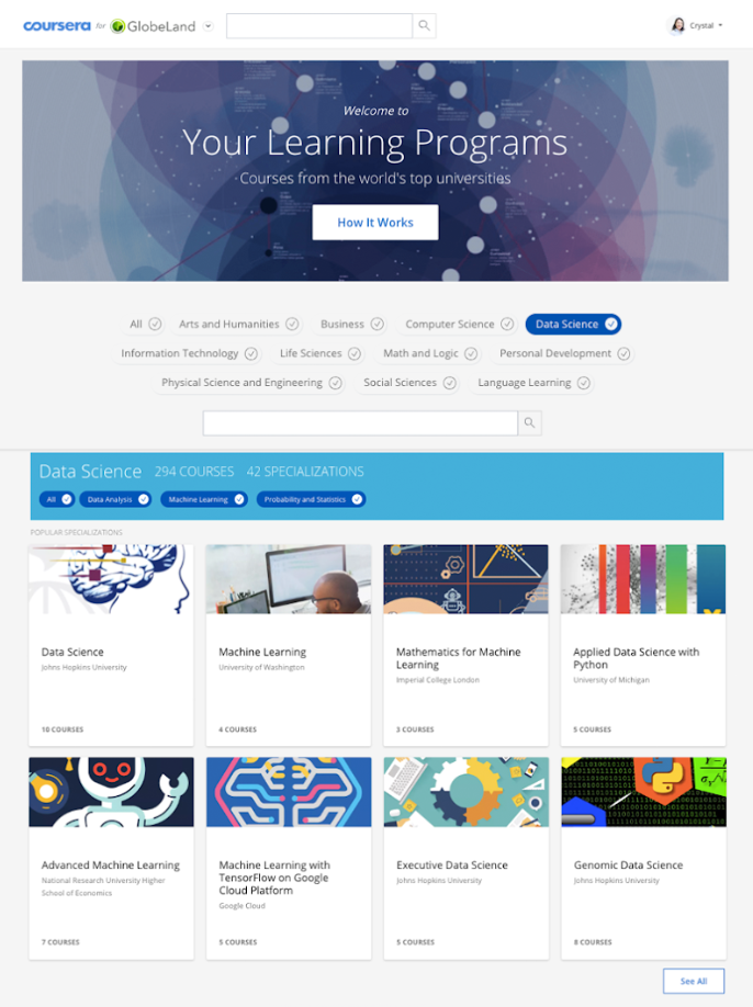 Web học lập trình Coursera
