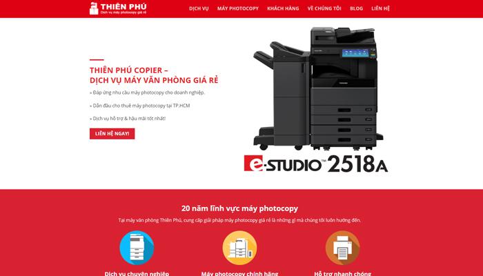 Dịch vụ máy photocopy Thiên Phú Copier