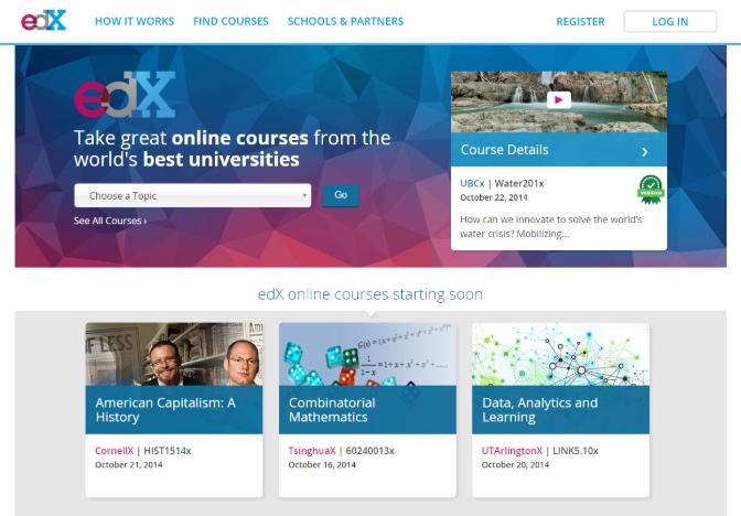 website tự học lập trình edx