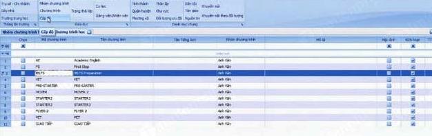 Phần mềm quản lý trung tâm giáo dục Simanet